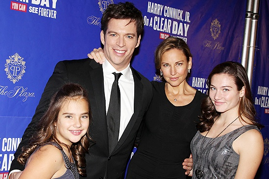 Harry Connick Jr Family 2014 Harry connick jr.,