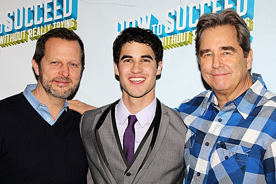 How to Succeed – Darren Criss Opening – Rob Ashford – Darren Criss – Beau Bridges