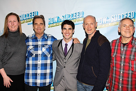 How to Succeed – Darren Criss Opening – Beth Williams – Beau Bridges – Darren Criss – Neil Meron – Craig Zadan