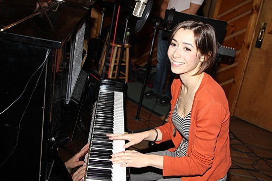 Once Cast Album Recording – Cristin Milioti