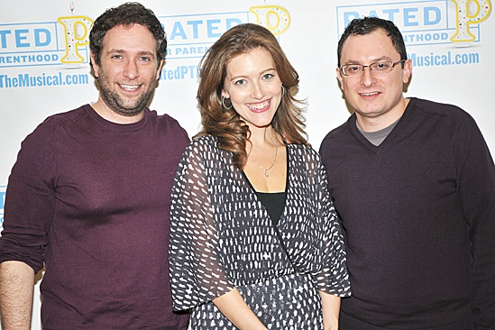 Rated P For Parenthood  Press Meet and Greet  David Rossmer  Sandy Rustin  Dan Lipton
