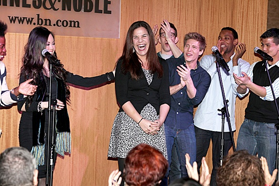 Godspell Album Autograph Signing at B&amp;N  Lindsay Mendez 