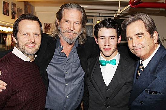 How to Succeed  Jeff Bridges Visit  Rob Ashford  Jeff Bridges  Nick Jonas