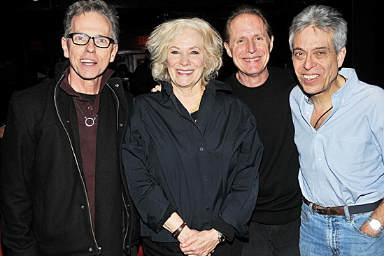 Carrie- Betty Buckley, Dean Pitchford, Michael Gore and Lawrence D. Cohen