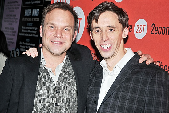 How I Learned to Drive Opening Night  Norbert Leo Butz  Kevin Cahoon