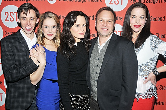 How I Learned to Drive Opening Night – Kevin Cahoon – Marnie Schulenberg – Elizabeth Reaser – Norbert Leo Butz – Jennifer Regan