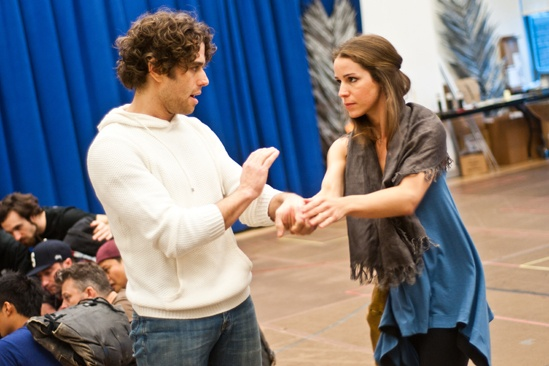 In Rehearsal with Jesus Christ Superstar – Josh Young – Chilina Kennedy
