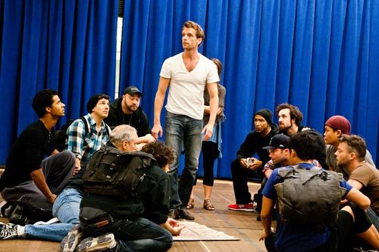 In Rehearsal with Jesus Christ Superstar – Paul Nolan