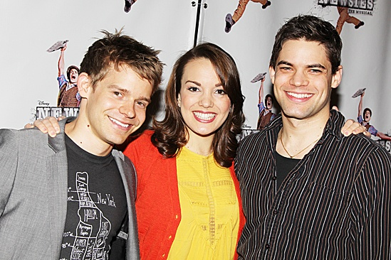 Newsies- Jeremy Jordan, Andrew Keenan-Bolger, and Kara Lindsay