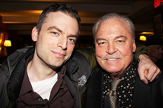 Other Desert Cities- Justin Kirk and Stacy Keach