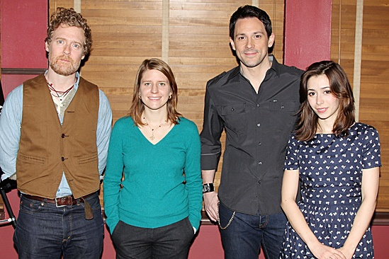 Once Meet and Greet  Glen Hansard  Marketa Irglovea Steve Kazee  Cristin Milioti