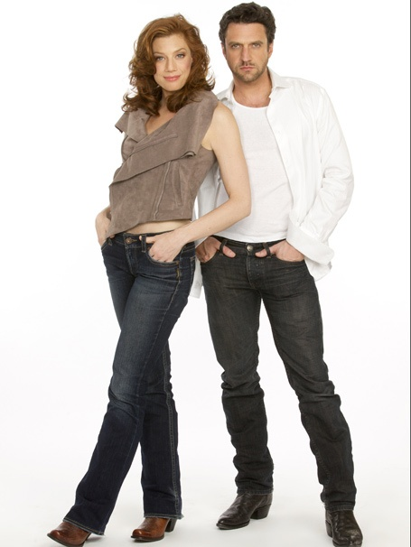 Promo Shots - Leap of Faith - Jessica Phillips - Raul Esparza