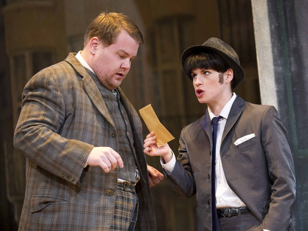 Show Photos - One Man, Two Guvnors - James Corden - Jemima Rooper