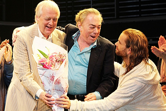 Jesus Christ Superstar opening night – Andrew Lloyd Webber – Josh Young – Tim Rice – Des McAnuff