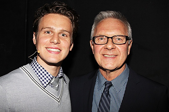 Miscast - Jonathan Groff and Walter Bobbie