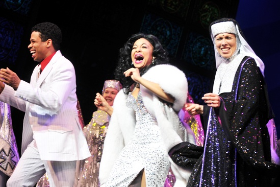 Raven-Symoné Opening Night in Sister Act – Chester Gregory - Raven-Symoné – Carolee Carmello