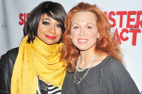 Raven-Symoné Opening Night in Sister Act – Raven-Symoné - Carolee Carmello