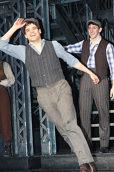 Newsies – Opening Night – Jeremy Jordan -  Ben Fankhauser