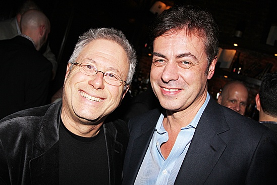Newsies  Opening Night  Alan Menken - John Gore