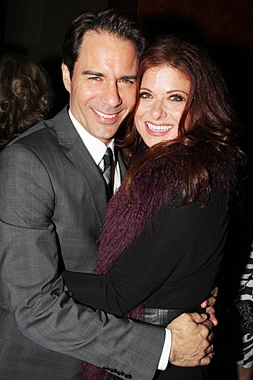 The Best Man  Opening Night  Eric McCormack  Debra Messing