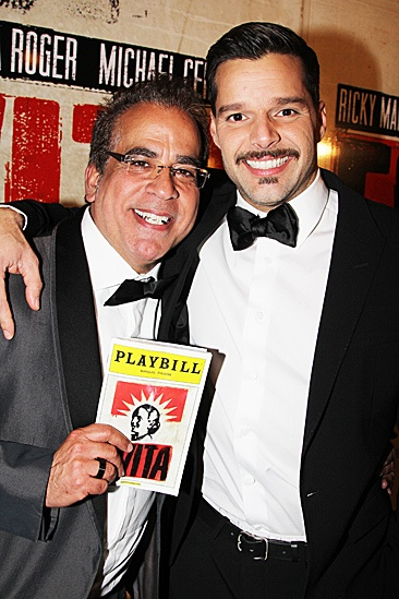 Evita  Opening  Richard Jay-Alexander - Ricky Martin
