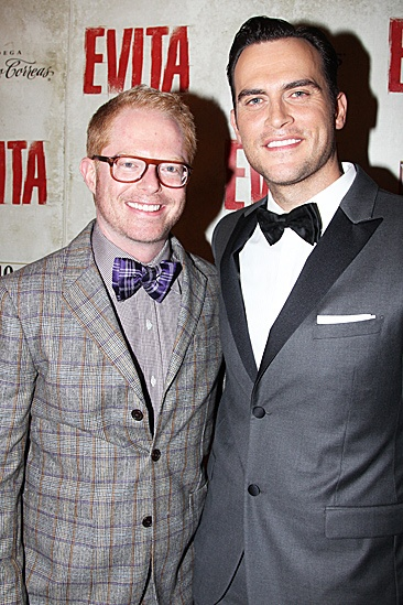 Evita  Opening  Jesse Tyler Ferguson - Cheyenne Jackson
