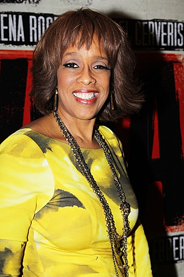 Evita  Opening  Gayle King
