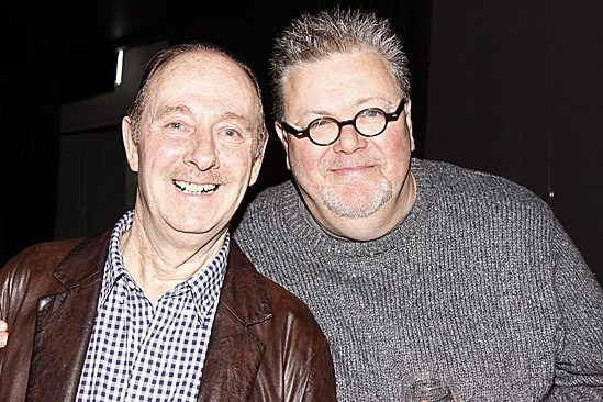 One Man, Two Guvnors Toasts First Broadway Preview – Fred Ridgeway – Martyn Ellis