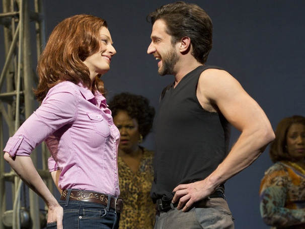 Show Photos - Leap of Faith - Jessica Phillips - Raul Esparza