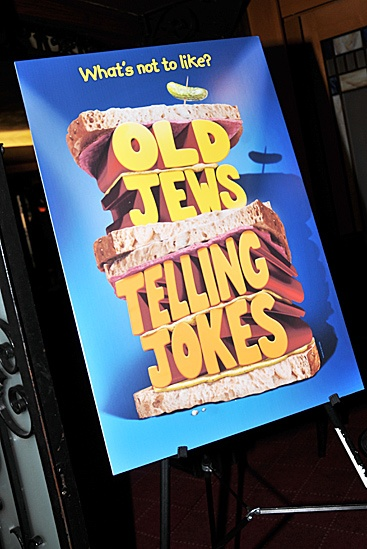 Old Jews Telling Jokes Meet and Greet – poster