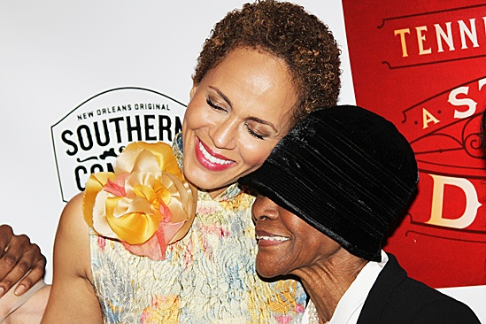 A Streetcar Named Desire opening night  Nicole Ari Parker  Cicely Tyson 