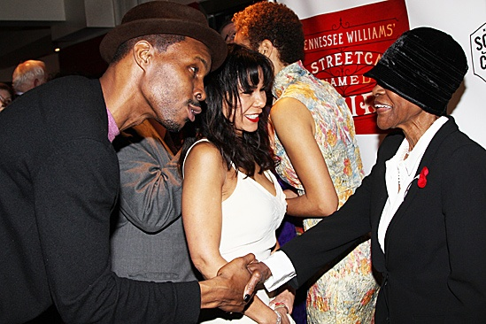 A Streetcar Named Desire opening night  Wood Harris  Daphne Rubin-Vega  Cicely Tyson  Blair Underwood