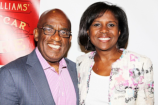 A Streetcar Named Desire opening night  Al Roker  Deborah Roberts