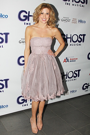 Ghost Opening Night – Caissie Levy