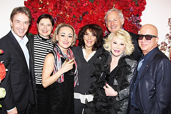 End of the Rainbow- Martin Short- Isabella Rossellini- Tracie Bennett- Andrea Martin- Joan Rivers- Victor Garber - Paul Shaffer