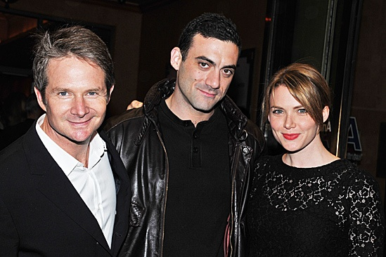 Don't Dress For Dinner – Opening Night – Peter Benson - Morgan Spector - Holley Fain