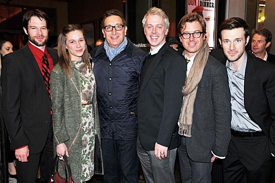 Don't Dress For Dinner – Opening Night – Kieran Campion – Kristen Bush – Moisés Kauffman – Tim McGeever – Lucas Near-Verbrugghe – Jacob Fishel