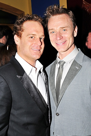 Don't Dress For Dinner – Opening Night – Adam James – Ben Daniels
