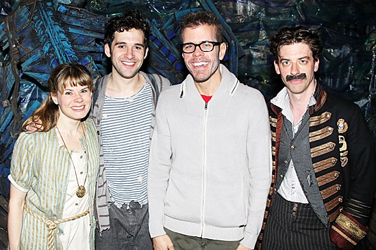 Perez Hilton Broadway Baby  Celia Keenan-Bolger  Adam Chanler-Berat  Perez Hilton  Christian Borle