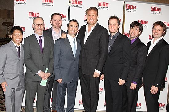 Manhattan Theatre Club – Spring Gala 2012 – Lou Castro – Jess Goldstein - Tobin Ost - Christopher Gatelli - Jeff Calhoun – Jeff Croiter – Ken Travis - Sven Ortel