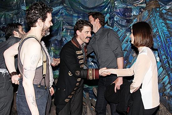Blunt Krasinski at Starcatcher - Christian Borle – Emily Blunt