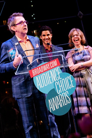 2012 Audience Choice Awards – Ceremony Photos – Thomas Schumacher – Darren Criss – Jackie Hoffman