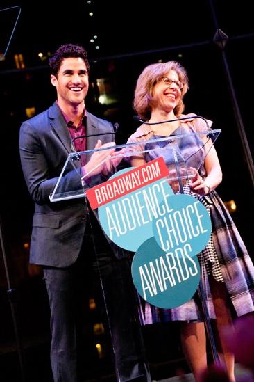 2012 Audience Choice Awards – Ceremony Photos – Darren Criss – Jackie Hoffman