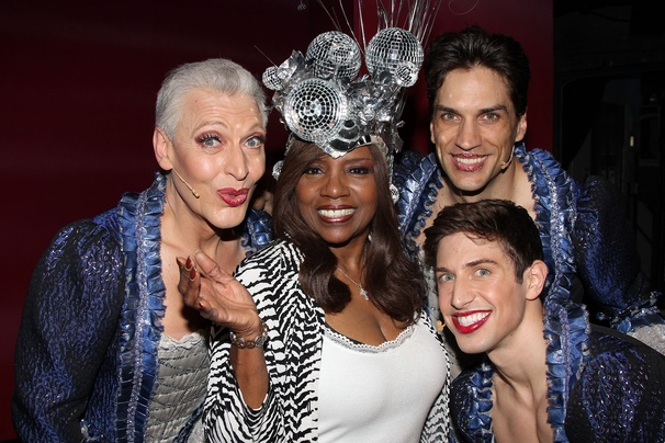Priscilla Queen of the Desert- Tony Sheldon - Gloria Gaynore- Will Swenson- Nick Adams