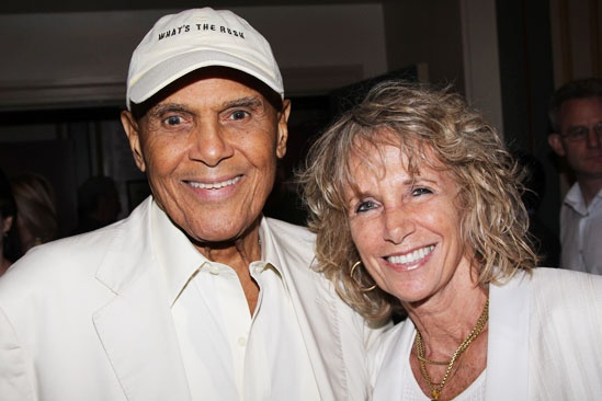 Old Jews Opening Night – Harry Belafonte – wife Julie Robinson