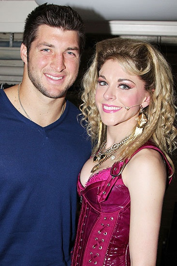 Rock of Ages  Tim Tebow Visit  Tim Tebow  Ashley Spencer