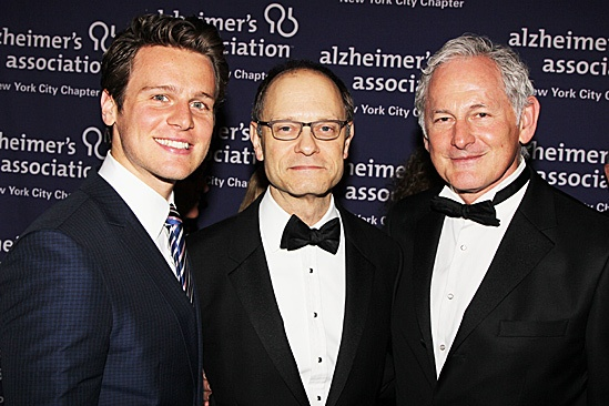 Alzheimers Gala  Jonathan Groff  David Hyde Pierce  Victor Garber