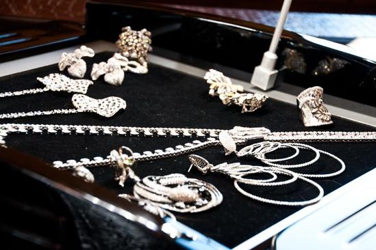 Da'Vine Joy Randolph Tony dress - jewelry