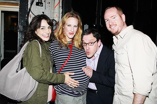 Jessica Chastain and Katie Finneran at Clybourne Park – Annie Parisse – Katie Finneran – Jeremy Shamos – Darren Goldstein