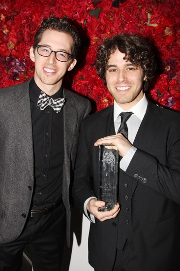 Theatre World Awards- Josh Grisetti- Josh Young